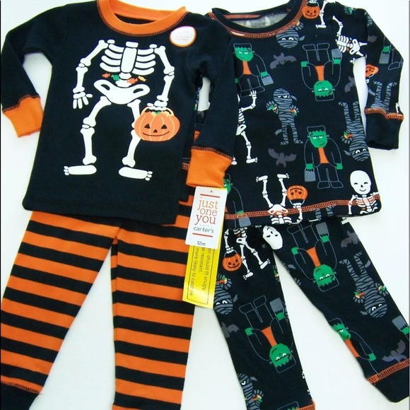 2 carters just one you boys halloween pajama set